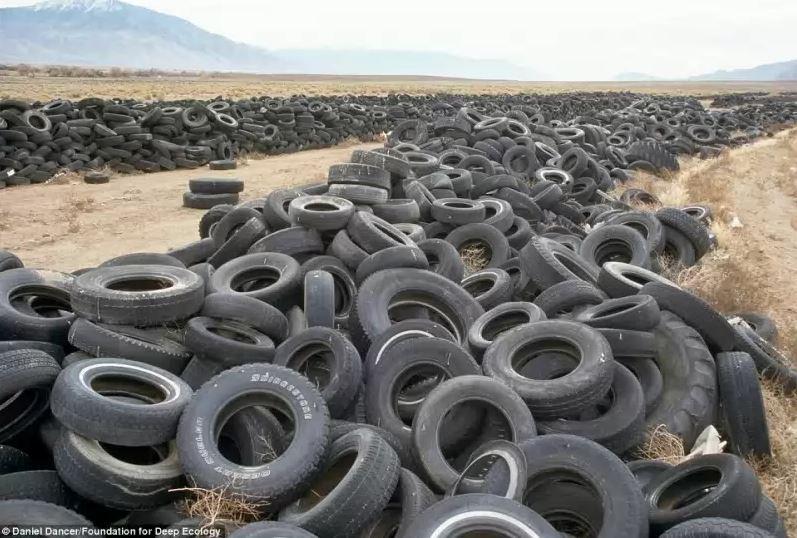 Skládka pneumatik v Nevadě