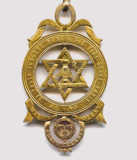 Zednářský medailon