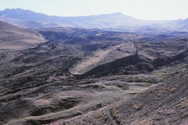 Zkamenělá Noemova archa na Araratu